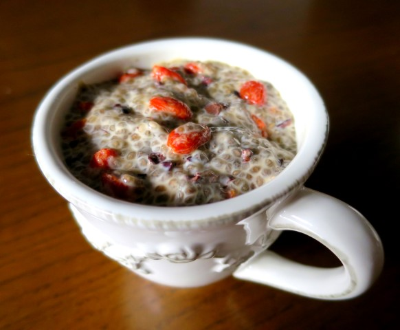 Chia seed pudding square (Small)