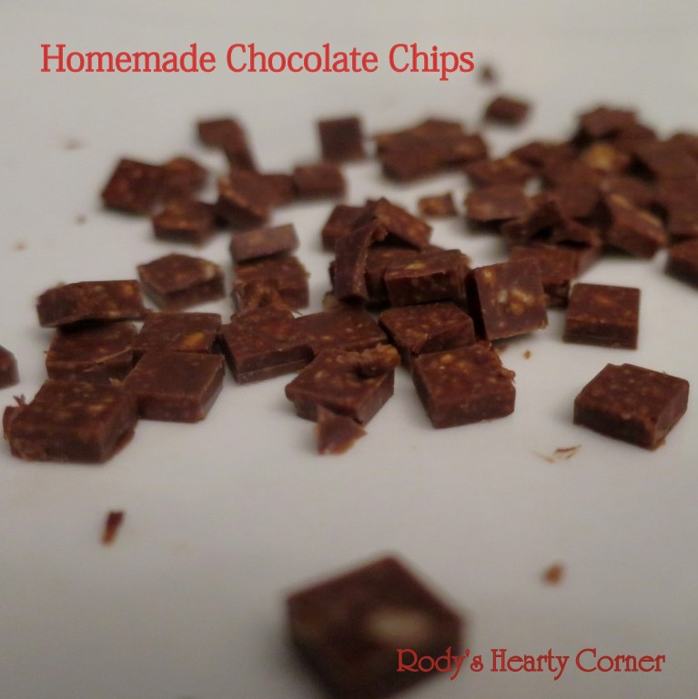 chocolate chips square